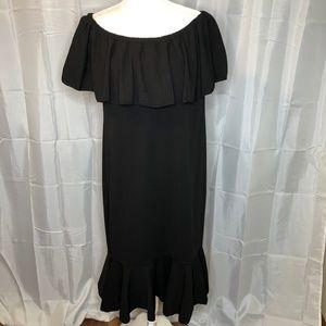 LuLaRoe Cici Black 2XL Dress